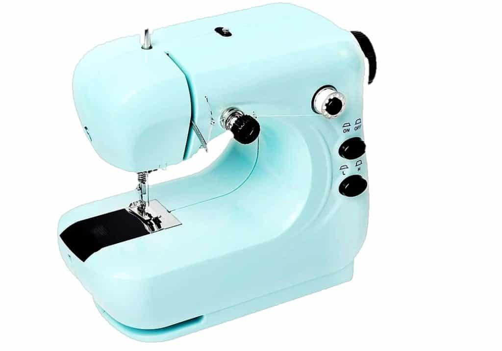 WISDOME Heavy Duty ABS Sewing Machine with 12 Built-in Stitches Free Arm Sewing Machine Best for Beginners